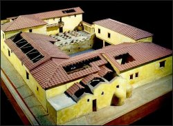 Farms in ancient Rome: Villa Regina CAD reconstruction