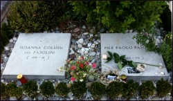 Tomb of Pier Paolo Pasolini