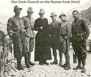 Don Carlo Gnocchi in the Russian campaign
