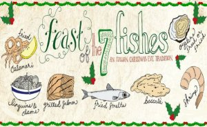Seven Fishes Christmas Eve.The Tale Of The Fishes A Christmas Story